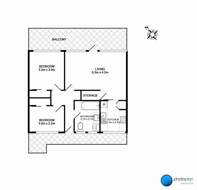 89 Unit 1 Tristram Street Photoplan